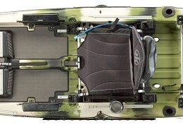 top view of mayfly forest kayak fluid fun canoe and kayak