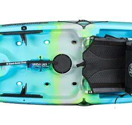 light blue green color cruise 12 bermuda II kayak fluid fun canoe and kayak