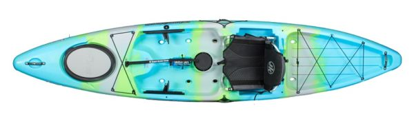 light blue green color cruise 12 bermuda II kayak fluid fun canoe and kayak