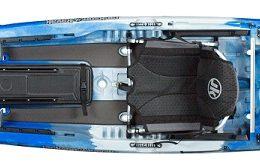 top view kraken 13.5 thunderstruck kayak