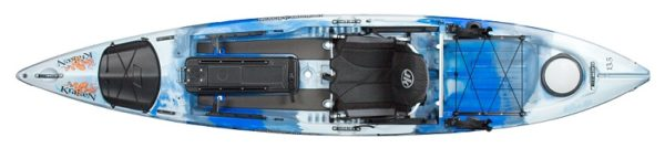 top view kraken 13.5 thunderstruck kayak