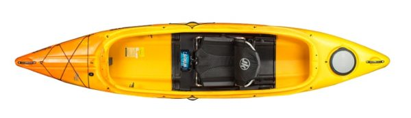 yellow color tripper 12 amber kayak fluid fun canoe and kayak