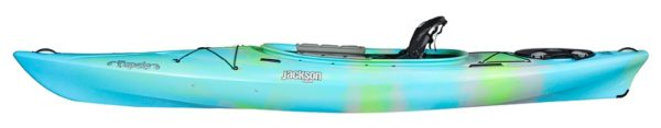 light blue and green bermuda tupelo 12 kayak fluid fun canoe and kayak