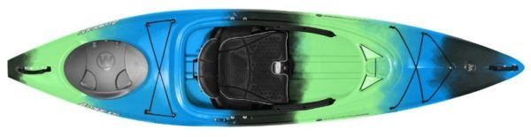light blue green aspire 105 kayak fluid fun canoe and kayak