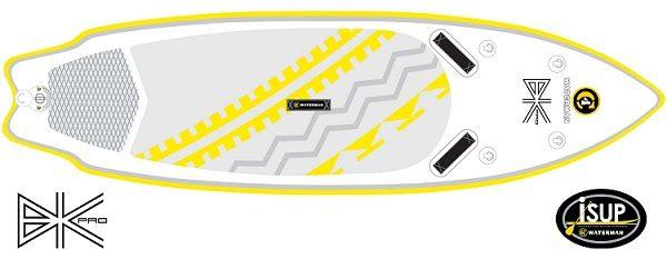 sup bkpro109t fluid fun canoe and kayak
