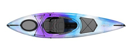 blue purple white color axis 10.5 kayak fluid fun canoe and kayak