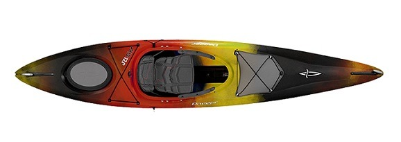 black red yellow color axis 12.0 kayak fluid fun canoe and kayak