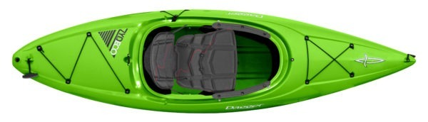 green color zydeco 9.0 kayak fluid fun canoe and kayak