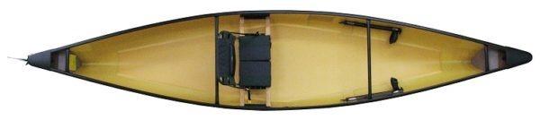 top view of fusion kayak fluid fun canoe and kayak