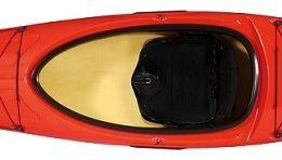kestrel 120 red kayak fluid fun canoe and kayak