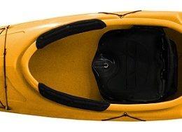 yellow color kestrel 120 fluid fun canoe and kayak