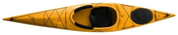 yellow color kestrel 120 fluid fun canoe and kayak