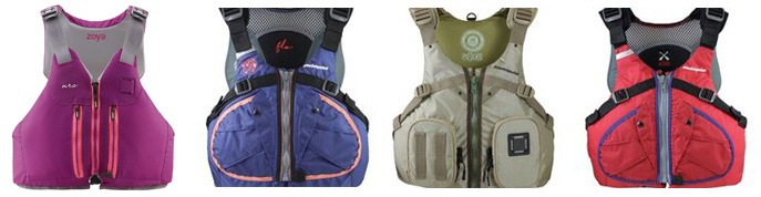 Life Vest PFD Options