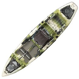 green and white mayfly jackson kayak fluid fun canoe and kayak