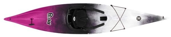 fuchsia black white color prodigy xs kayak fluid fun canoe and kayak