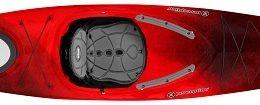 red black color conduit 13.0 kayak fluid fun canoe and kayak