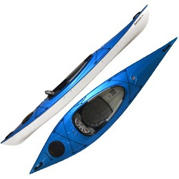 blue santee 116 hurricane aquasports kayak fluid fun canoe and kayak