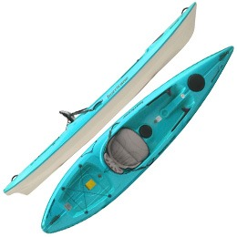teal skimmer 116 hurricane aquasports kayak fluid fun canoe and kayak