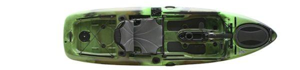 green color slayer propel 10 kayak fluid fun canoe and kayak