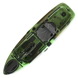green slayer propel 10 native watercraft kayak fluid fun canoe and kayak