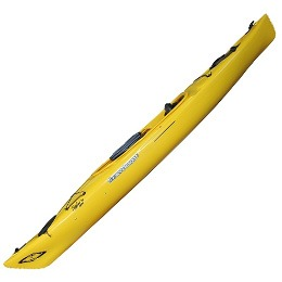 yellow solara 120 current designs kayak fluid fun canoe and kayak