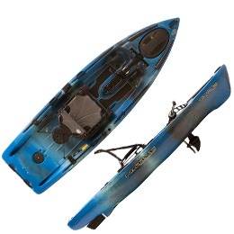 black and blue titan propel 10.5 native watercraft kayak fluid fun canoe and kayak