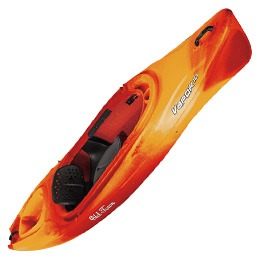 orange and red vapor 10 old town kayak fluid fun canoe and kayak