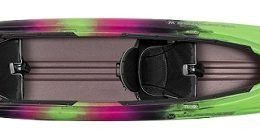 green color pamlico 145t borealis fluid fun canoe and kayak