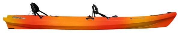mango color tarpon 135t kayak fluid fun canoe and kayak
